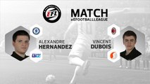 eSport - E-Football League : le résumé du match entre Alexandre Hernandez et Vincent Dubois