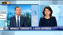 Info BFMTV - Menaces contre une salle de spectacle à Paris: deux mineures interpellées