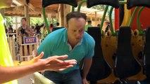 Zumanjaro: Drop of Doom at Six Flags Great Adventure Brad Blanks jumps on