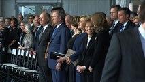 L'Amérique fait ses adieux à Nancy Reagan, inhumée avec son époux