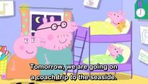 Learn English Through Cartoon | Peppa Pig with English Subtitles | Episode 34: Sun, Sea, a