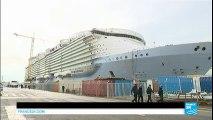 Le plus grand paquebot du monde, Harmony of the Seas, largue les amarres  !