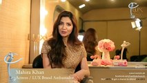 Behind the Scenes with Fawad Khan & Mahira Khan - Lux Style Awards Tvc2015