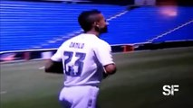 Danilo Fails at Kick Ups during Official Real Madrid Presentation
