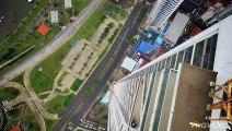Wourlds largest urban zipline