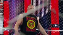 WWE WRESTLING STEEL CAGE MATCH - SETH ROLLINS VS. JOHN CENA - Sports MMA Mixed Martial Arts Entertainment