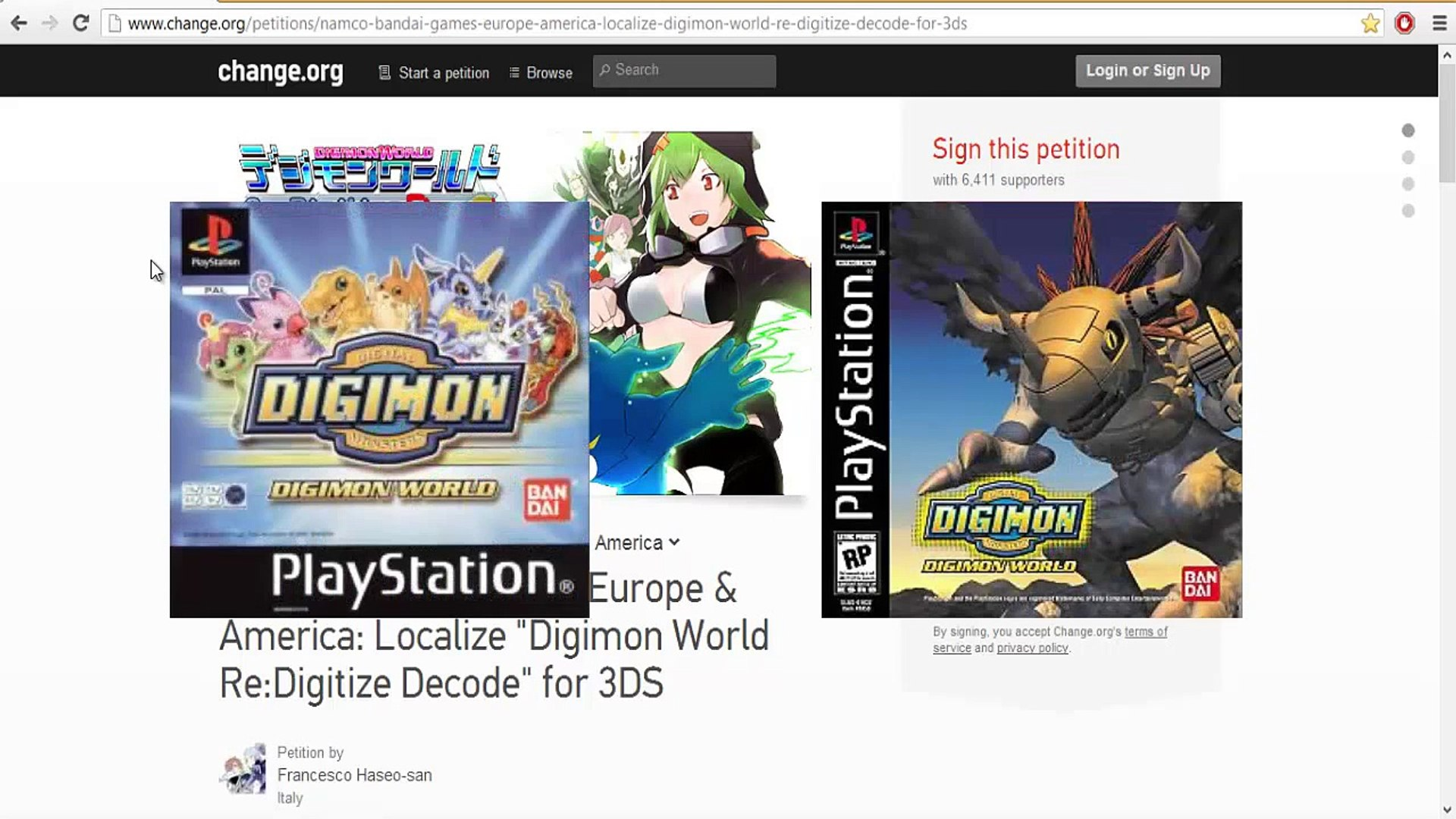 Digimon World Re:Digitize - Petition for 3ds version localized!