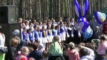 Детский хор России Уфа 9 мая / Russian childrens choir sing 2015 HD