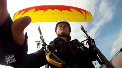 Skydiving Parachute Malfunction