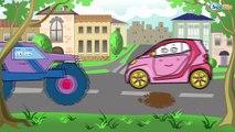 Cartoons Voitures tombereaux et pelles spéciale autres véhicules de tourisme