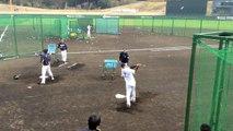 糸井嘉男 特打 ロングティー 2015 オリックス・バファローズ 宮崎キャンプ