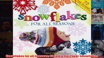 Download PDF  Snowflakes for all Seasons 72 Fold  Cut Paper Snowflakes FULL FREE