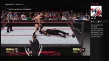 WWE 2K16 Stone Cold Steve Austin Showcase Vs Undertaker Buried Alive Match Rock Bottom 1998