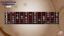 Seventies Funk Blues in Bm Guitar Backing Track with scale