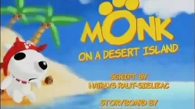 Monk Little Dog - Monk em uma ilha deserta