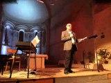 Concert 5 mars 2016 Rioux - Yohan DUBRUQUE, baryton accompagé au clavier par Stéphane TREBUCHET