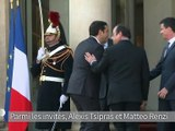 Réforme de l'UE: Hollande reçoit des leaders sociaux-démocrates
