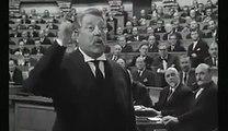 """Jean Gabin, extrait du film """"Le Président"""", 1936 -  Discours contre les Marchands, les Armes et la Colonisation"""