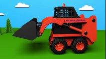 Jeu d'assemblage : la minichargeuse. Dessins animés éducatifs pour enfants sur voitures en français.  Dessins Animés Pour Enfants