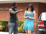 This Guy Hits His Girlfriend, Watch What He Gets In Return! :O