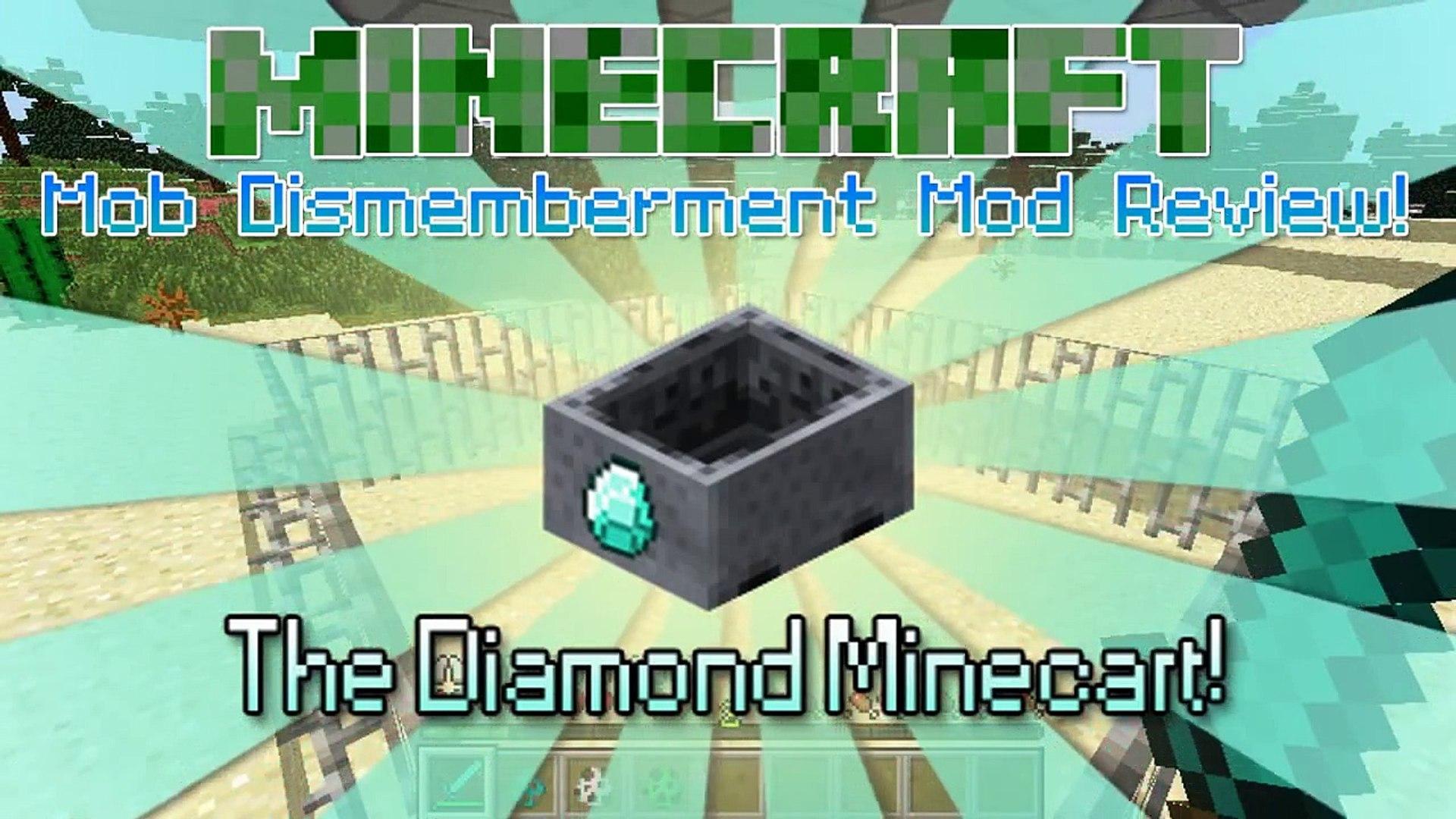 Minecraft: MOB DISMEMBERMENT MOD!