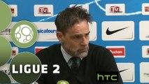 Conférence de presse Tours FC - Stade Lavallois (1-1) : Marco SIMONE (TOURS) - Denis ZANKO (LAVAL) - 2015/2016