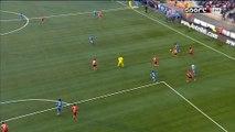 1-1 Mauricio Isla Goal France  Ligue 1 - 12.03.2016, FC Lorient 1-1 Olympique Marseille