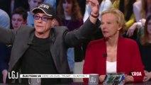 Panique à Canal Plus, Jean-Claude Van Damme parle des rothschild et des Rockefeller