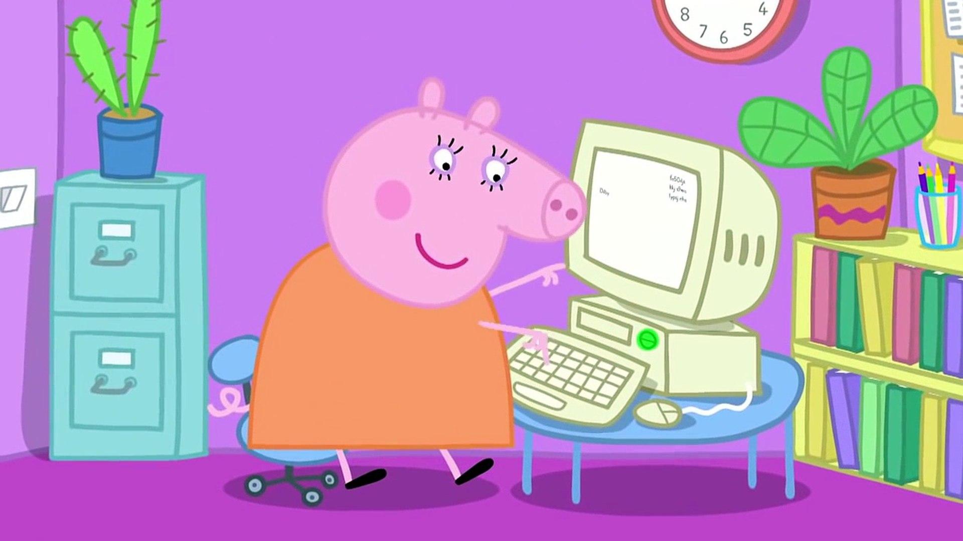 Свинка Пеппа серия 7 Мама свинка работает Работа мамы Свинки на русском все серии подряд без титров