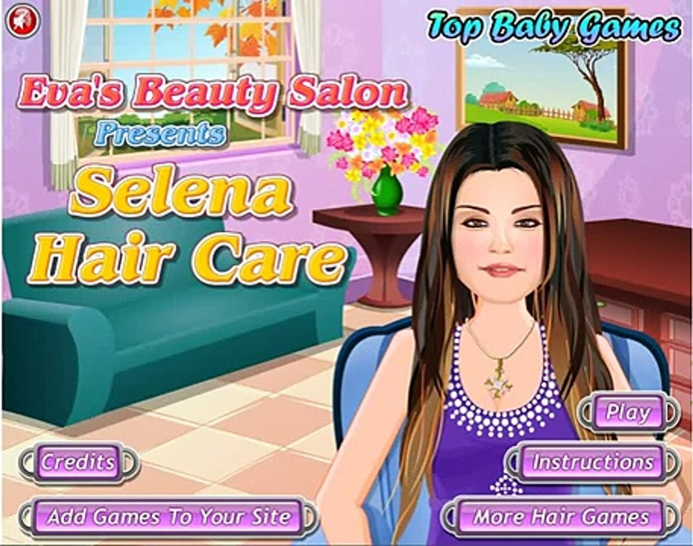 Barbie Selena Gomez Hair Care Girls Games Dailymotion Video