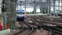 Arrivée Train Spécial Autorail Limousin 803501 Limoges-Bordeaux