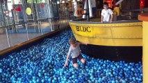 Crazy Plastic Balls Pool Playground Fun Balls Swimming Pool Ball Pit Deep Blue Sea