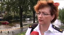 Dijkoverstroming Assumburg in Alphen aan den Rijn