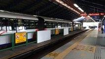 Rapid KL LRT departure from KL Sentral