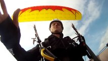 Skydiving Parachute Malfunction ,  Reserve Parachute
