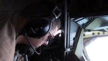 KC 135 Stratotanker Air Refuels B 1 & A 10s Over Asia