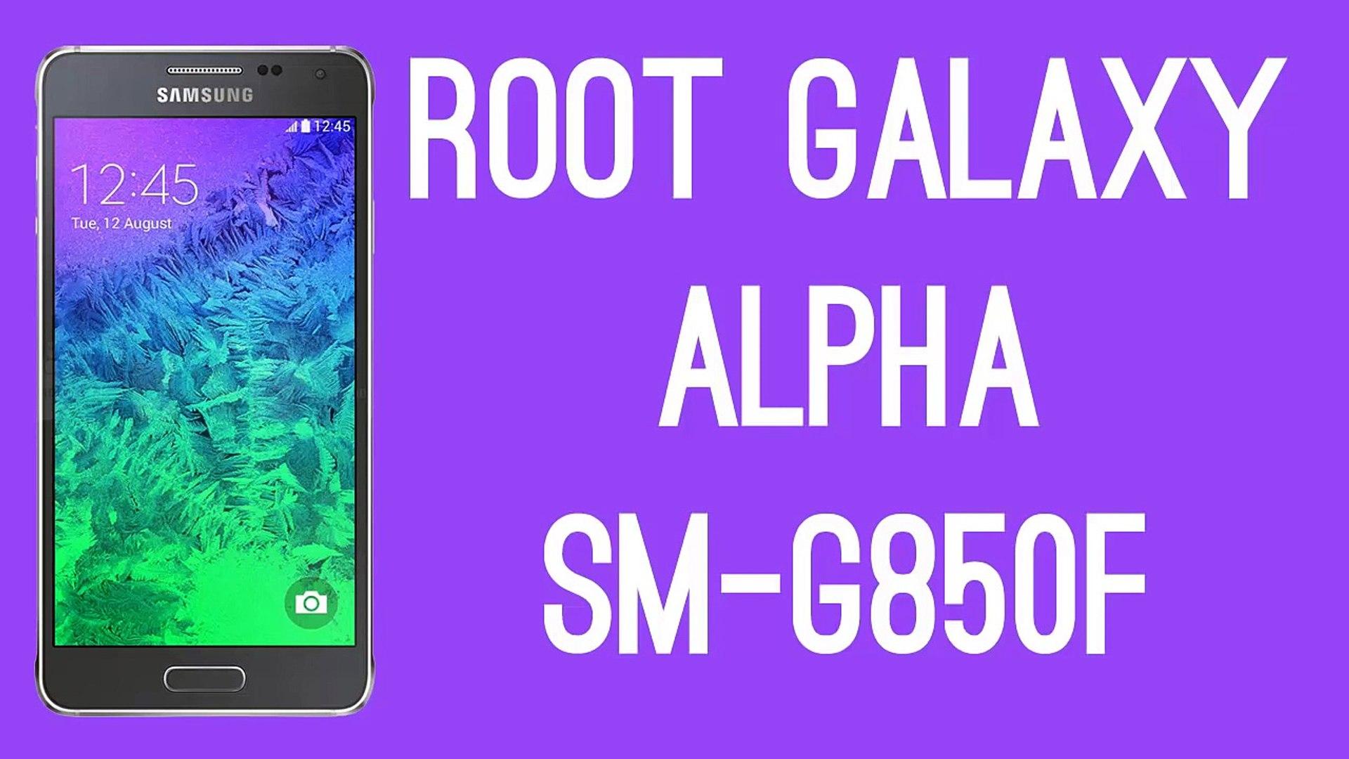 ROOT SAMSUNG GALAXY ALPHA SM G850F [ROOT TUTORIAL]