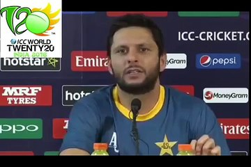 watch Pakistan has Never Defeated India in World Cup :- Indian Journalist � Check Excellent Reply by Shahid Afridi