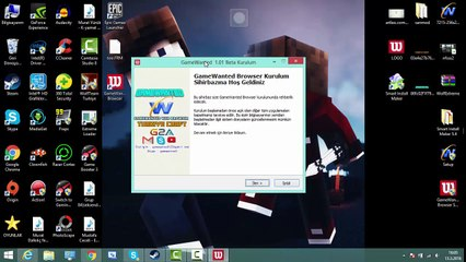 GameWanted Browser - Tanıtım Videosu
