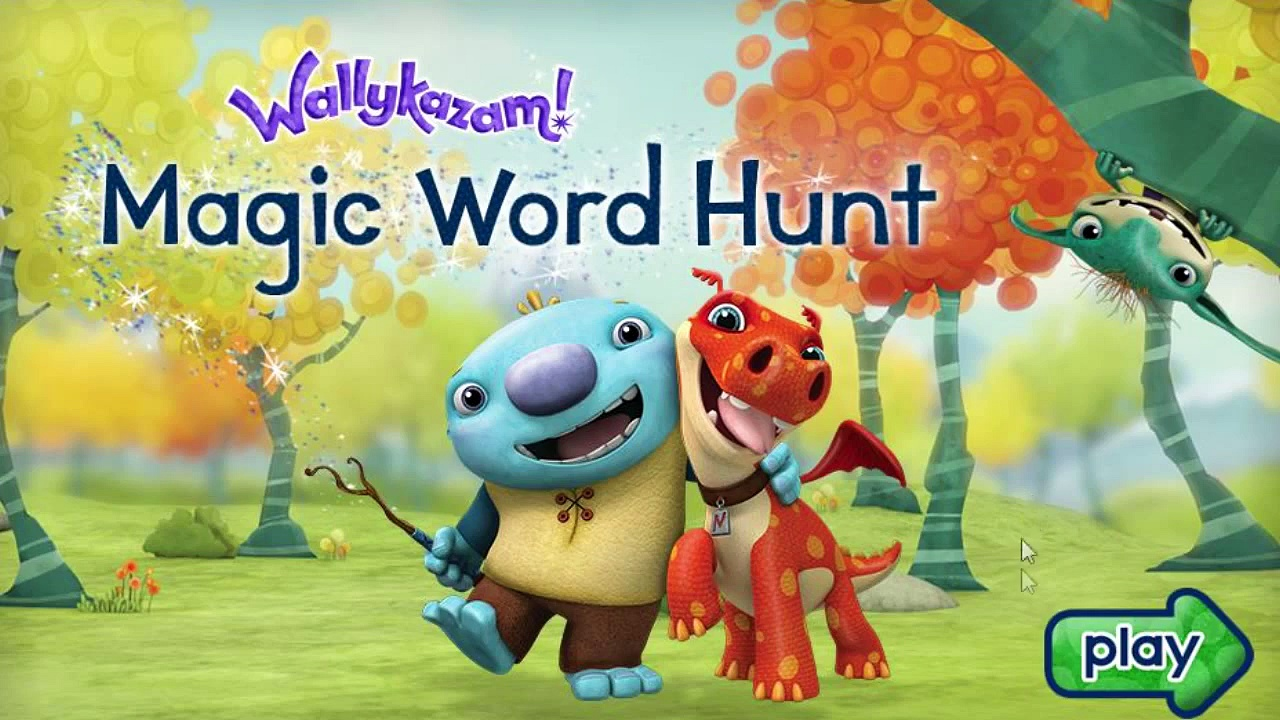 Wallykazam! Magic Word Hunt – Wallykazam Games