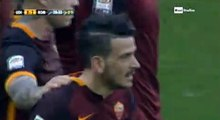Alessandro Florenzi Goal Udinese 0 - 2 AS Roma Serie A 13-3-2016