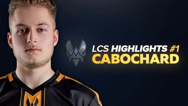 LCS Highlight #1 - Vitality Cabochard