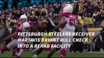 Martavis Bryant to enter rehab over depression