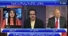 Dr Shahid Masood takes class of Shahid Afridi on his statement that he got more love in India than Pakistan