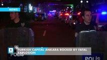 Turkish capital Ankara rocked by fatal explosion