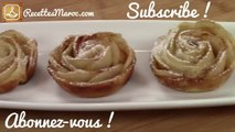 Roses Feuilletées aux Poires - Baked Pear Roses - ورود مورقات الإجاص