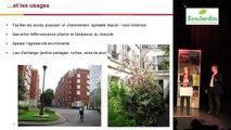Label EcoJardin (2016) Adèle DUBRULLE et  Christophe DAVALO , chargée de missions et régie Espaces Verts de Paris Habitat  (75)  - Meaux Carrel : gestion d'un bailleur public