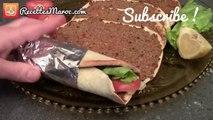 Pizza Turque Lahmacun (Lahma3joun) - Turkish Pizza - طريقة عمل لحم بعجين