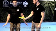 KRAV MAGA TRAINING • How to Disarm a Gun by your side