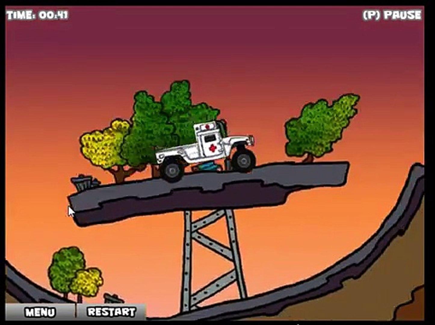 скорая помощь доедь до больницы game Ambulance Frenzy # 2 игра онлайн